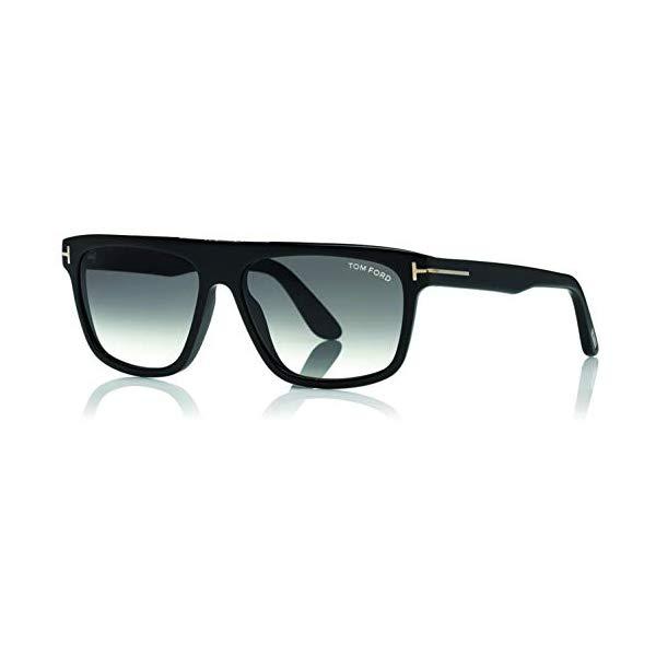 トムフォード サングラス TOM FORD FT0628 Tom Ford Sunglasses FT 0628 Cecilio- 02 01B shiny black/gradient smoke