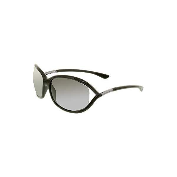 トムフォード サングラス TOM FORD FT0008 Tom Ford Jennifer Black Sunglasses TF0008-199