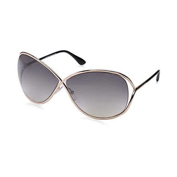 トムフォード サングラス TOM FORD FT0130 Tom Ford Women's FT0130 Sunglasses, Shiny Rose Gold