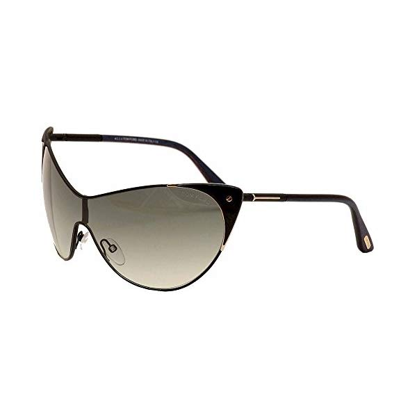 トムフォード サングラス TOM FORD FT0364 Tom Ford Women's FT0364 01B Vanda Sunglasses Black, 137