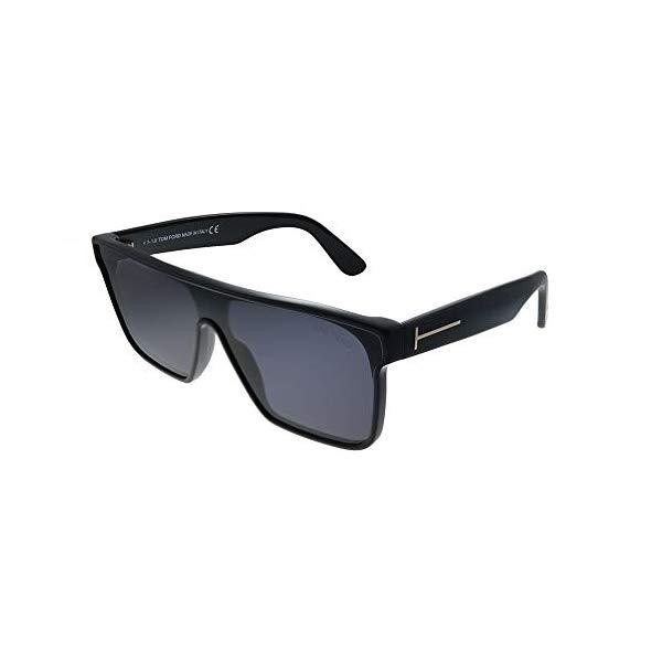トムフォード サングラス TOM FORD FT0709 01A Tom Ford WHYAT FT 0709 BLACK/SMOKE 0/0/140 men Sunglasses