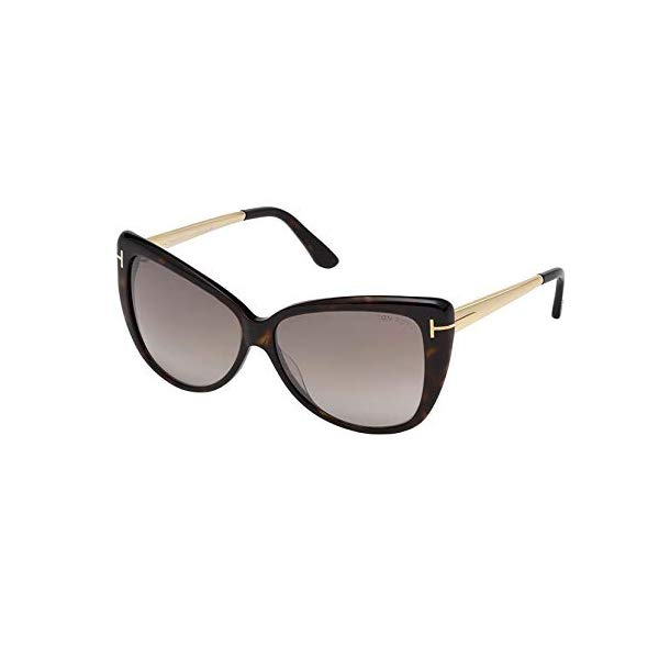 トムフォード サングラス TOM FORD FT0512 Tom Ford Womens Reveka Signature T-Bar Shield Sunglasses