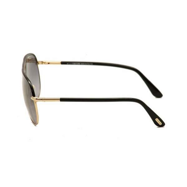 トムフォード サングラス TOM FORD FT0285 Tom Ford Cole Sunglasses in Shiny Black Gradient Smoke