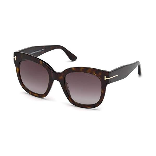 トムフォード サングラス TOM FORD FT0613 Tom Ford Sunglasses FT 0613 -F Beatrix- 02 52T dark havana / gradient bordeaux