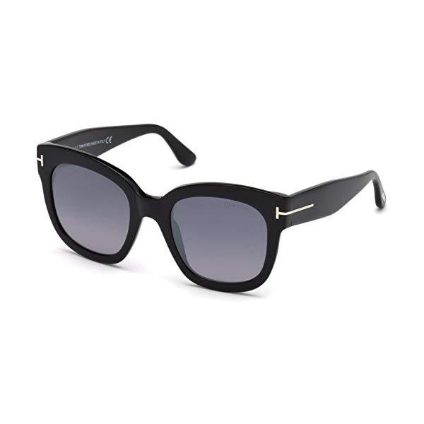 トムフォード サングラス TOM FORD FT0613 Tom Ford Sunglasses FT 0613 -F Beatrix- 02 01C shiny black / smoke mirror