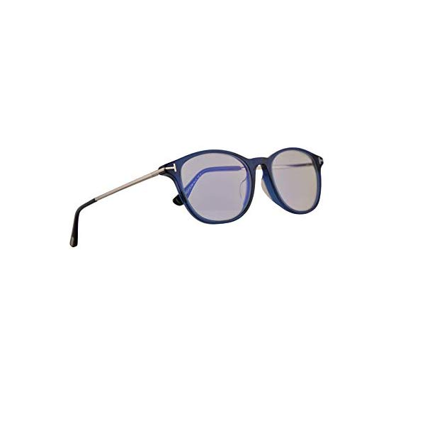 トムフォード サングラス TOM FORD TF5553-B Tom Ford FT5553FB Eyeglasses 54-19-145 Shiny Blue w/Demo Clear Lens 090 FT5553-F-B FT TF 5553FB TF5553FB TF5553-F-B