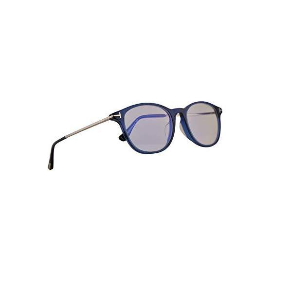 トムフォード サングラス TOM FORD TF5553-B Tom Ford FT5553FB Eyeglasses 54-19-145 Shiny Blue w/Demo Clear Lens 090 FT5553-F-B FT TF 5553FB TF5553FB TF5553-F-B