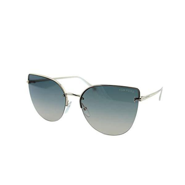 トムフォード サングラス TOM FORD FT0652 28B Tom Ford INGRID-02 FT 0652 ROSE GOLD/GREY BEIGE SHADED 60/17/135 women Sunglasses