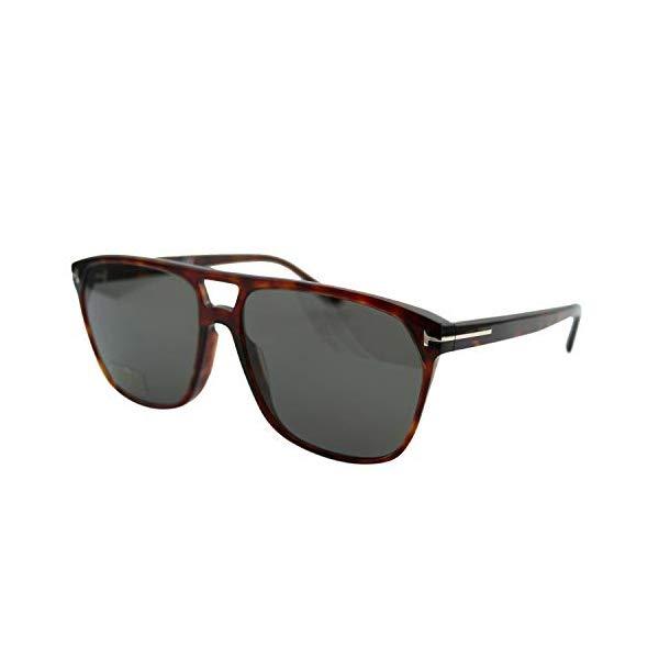 トムフォード サングラス TOM FORD FT0679 54D Tom Ford FT0679 Havana/Smoke Lens Solid Polarized Sunglasses