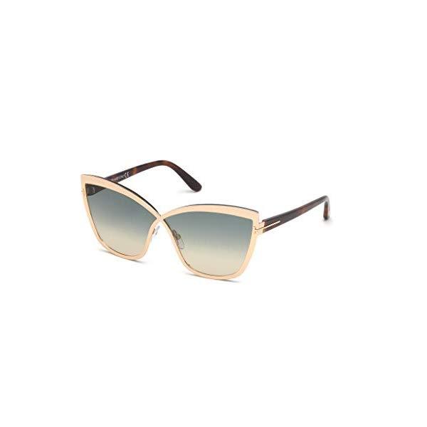 トムフォード サングラス TOM FORD FT0715 28P Tom Ford TF 715 28P Sandrine-02 Gold Sunglasses