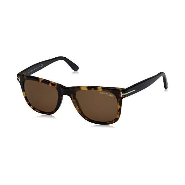 トムフォード サングラス TOM FORD FT0336 145 55J Tom Ford Leo Sunglasses in Coloured Havana