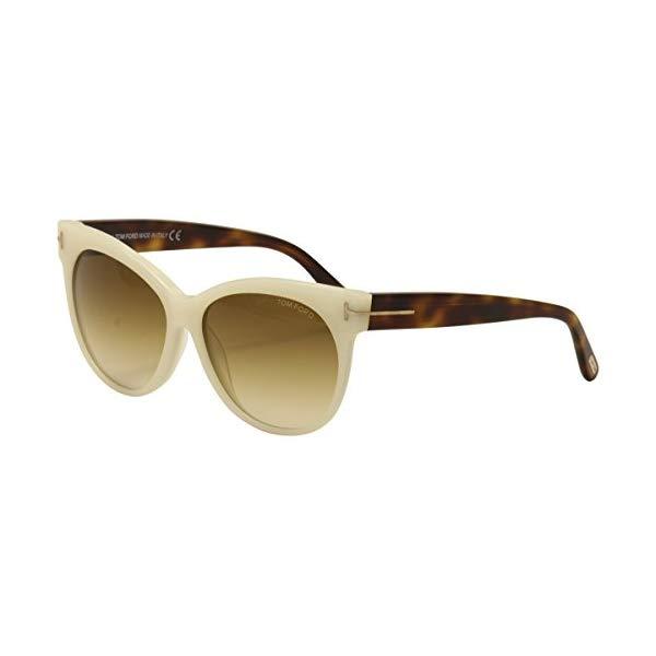 トムフォード サングラス TOM FORD FT0330 Tom Ford TF330 20F White Ivory / Brown Gradient Sunglasses