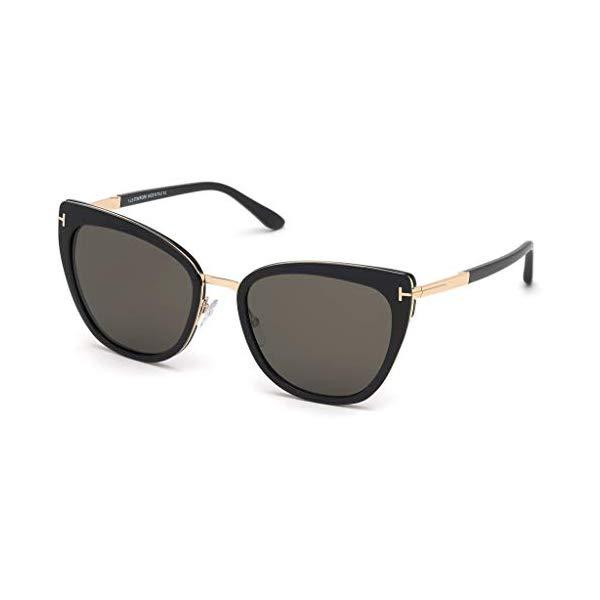 トムフォード サングラス TOM FORD FT0717 01A Tom Ford SIMONA FT 0717 BLACK/SMOKE 57/20/140 unisex Sunglasses