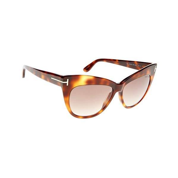 トムフォード サングラス TOM FORD TF523 Nika Tom Ford Nika Brown Gradient Cat Eye Sunglasses