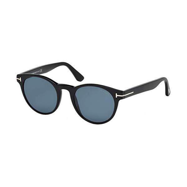 トムフォード サングラス TOM FORD FT0522 Tom Ford FT0522 01V Black FT0522 Round Sunglasses Polarised Lens Category 3 Siz