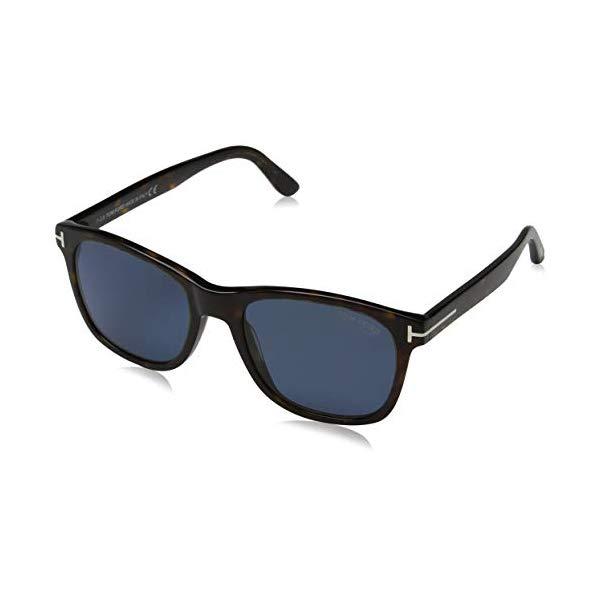 トムフォード サングラス TOM FORD FT0595 Tom Ford FT0595 52D Dark Havana Eric Oval Sunglasses Polarised Lens Category 3