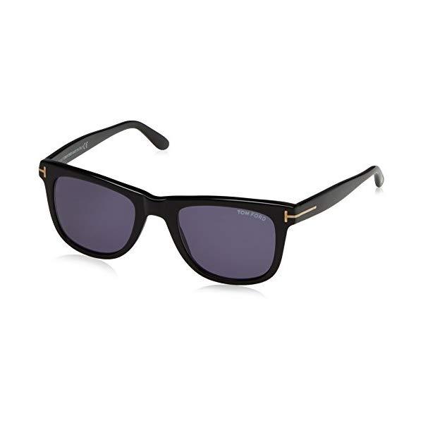 トムフォード サングラス TOM FORD FT0336 145 01V Tom Ford Leo Tf336 Ft0336 Authentic Designer Sunglasses 01v Shiny Blk Glasses