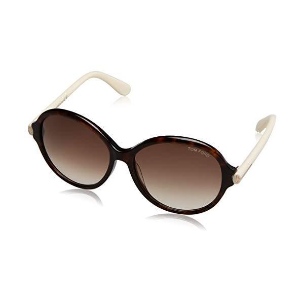 トムフォード サングラス TOM FORD 1205361 Havana / Brown Gradient Tom Ford Women's Sunglasses Ft0343