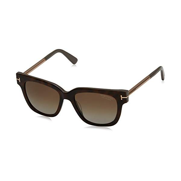 トムフォード サングラス TOM FORD Polarized FT0436 56H Tom Ford FT0436 Tracy Square Sunglasses TF436
