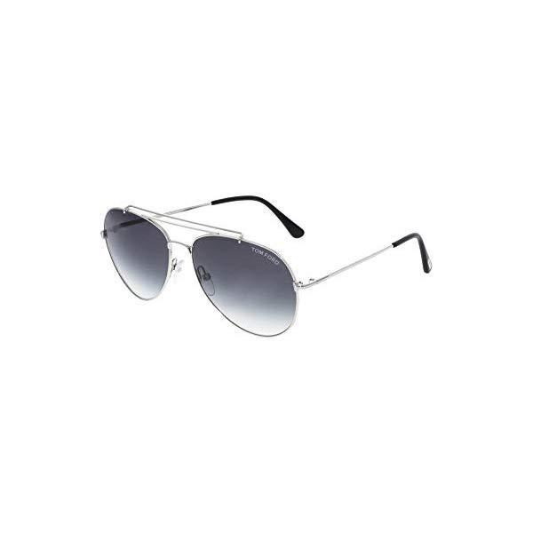 トムフォード サングラス TOM FORD FT0497A Tom Ford Sunglasses INDIANA TF 497 FT 18B shiny rhodium / gradient smoke