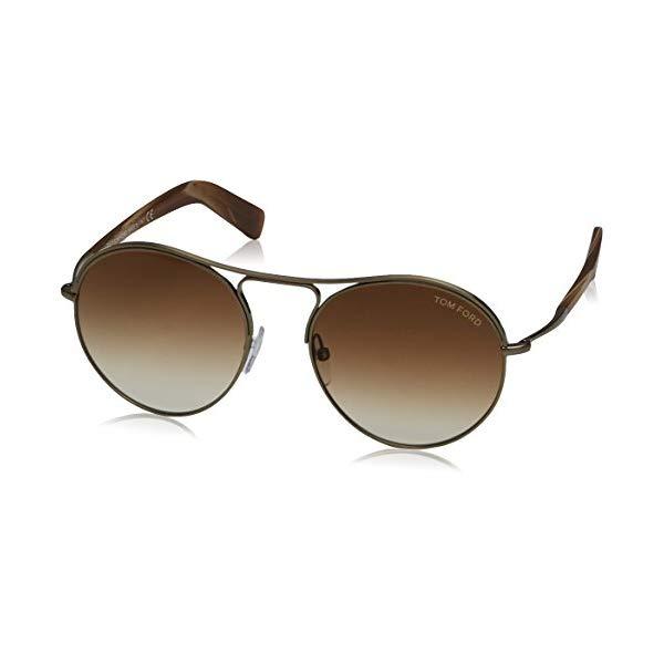 トムフォード サングラス TOM FORD FT0449 MET 33F Tom Ford Sunglasses TF 449 Jessie 33F Gold Brown Multicolor 54mm