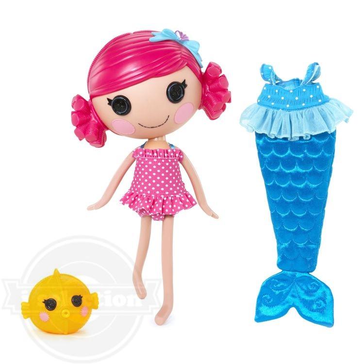 【ララループシー ソフトドール MGA Lalaloopsy Sew Magical Mermaid Doll - Coral Sea Shells】
