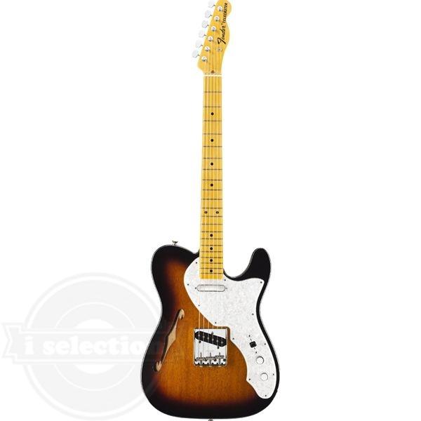 【フェンダー アメリカンビンテージ テレキャスター Fender American Vintage '69 Telecaster Thinline Electric Guitar Maple Fretboard 2 Tone Sunburst】
