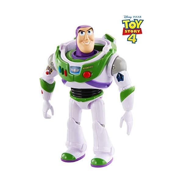 トイストーリー4 バズ・ライトイヤー アクション フィギュア 人形 おもちゃ 音が鳴る しゃべる 英語 Disney Pixar Toy Story True Talkers Buzz Lightyear Figure, 7