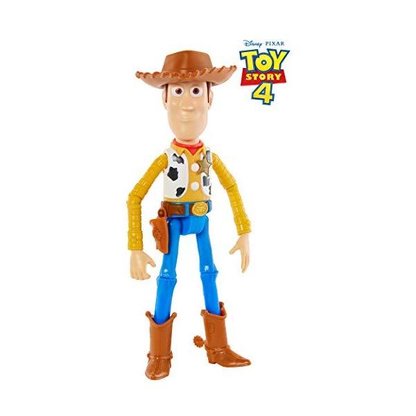 トイストーリー4 ウッディ フィギュア ドール 人形 おもちゃ グッズ Disney Pixar Toy Story Woody Figure, 9.2