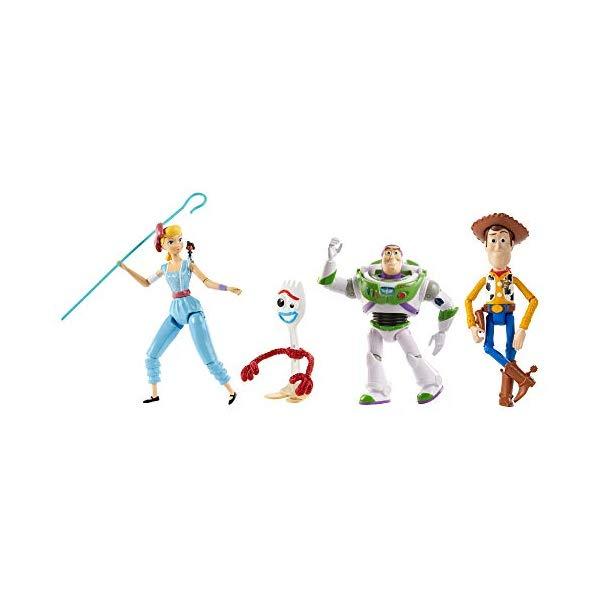 トイストーリー4 フィギュア 人形 ドール アドベンチャーパック ウッディ フォーキー ボー・ピープ バズ・ライトイヤー Disney Pixar Toy Story Adventure Pack, 9.3