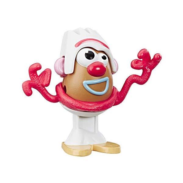 トイストーリー4 ミスター ポテトヘッド フォーキー 変身 フィギュア ドール おもちゃ グッズ 人形 Mr Potato Head Disney/Pixar Toy Story 4 Forky Mini Figure Toy for Kids Ages 2 & Up