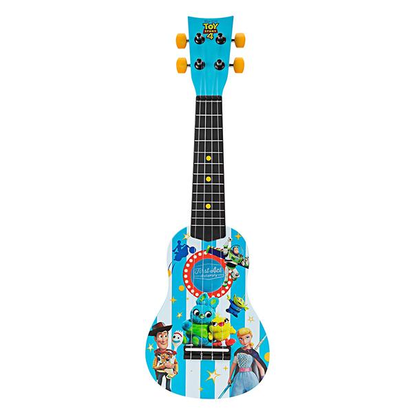 トイストーリー4 ウクレレ キッズ ブルー おもちゃ グッズ First Act Discovery Toy Story 4 Ukulele, Blue