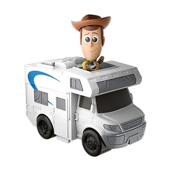 トイストーリー4 ウッディ キャンピングカー 人形 おもちゃ グッズ Disney Pixar Toy Story 4 Minis Woody and RV