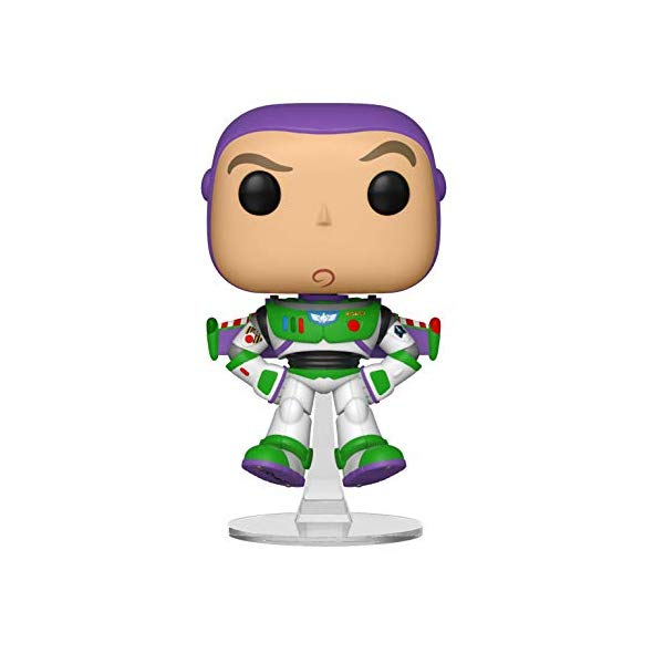 トイストーリー4 バズ・ライトイヤー 536 人形 フィギュア ドールおもちゃ グッズ Funko Pop! Disney: Toy Story 4 - Buzz Lightyear Floating, Amazon Exclusive