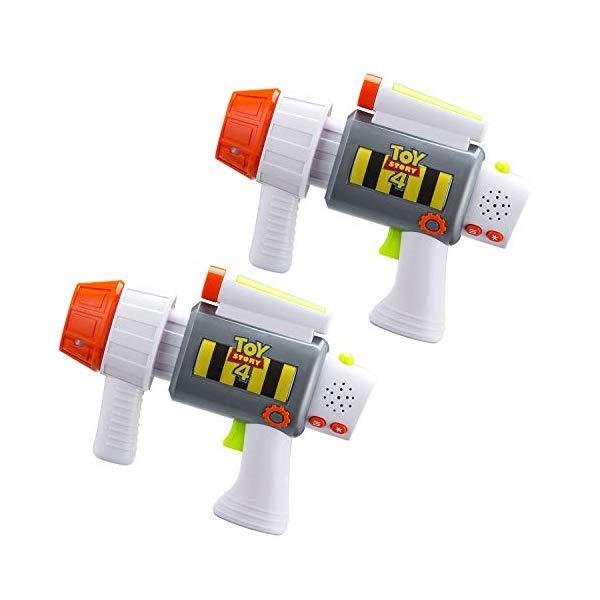 トイストーリー4 おもちゃ 鉄砲 ガン レーザータグ ブラスター ライトアップ&バイブレーション グッズ Toy Story 4 Laser-Tag for Kids Infared Lazer-Tag Blasters Lights Up & Vibrates When Hit