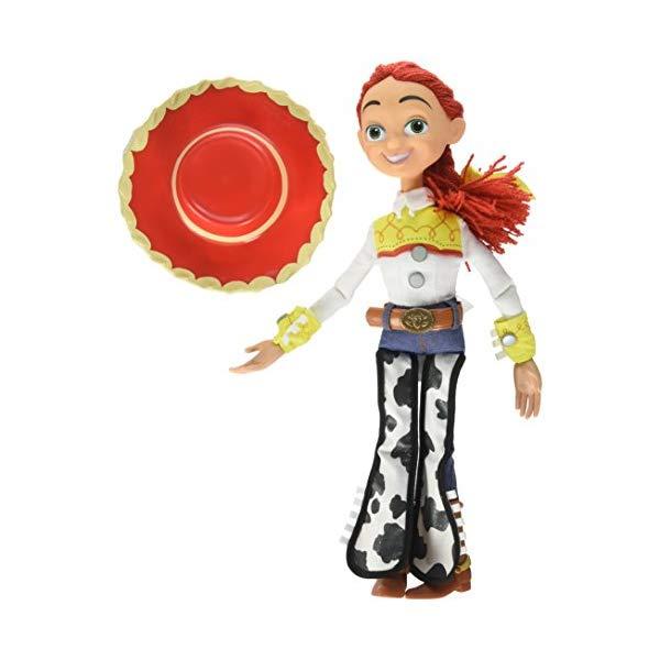 トイストーリー4 ジェシー トーキング フィギュア ドール 人形 しゃべる お話し おもちゃ グッズ Disney Toy Story Jessie The Yodeling Cowgirl Talking Figure Doll - 15 Inch