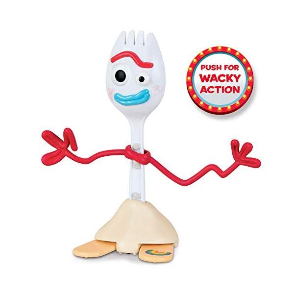 One Size Party City Toy Story 4 Forky Mask for Children Measures 11 3//4 Inches by 17 Inches with an Attached Elastic