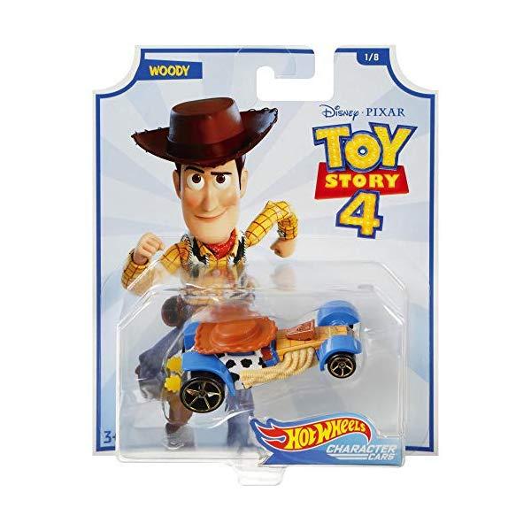 トイストーリー4 ウッディ ホットウィール 車 おもちゃ グッズ  トイストーリー4 ウッディ ホットウィール 車 おもちゃ グッズ Hot Wheels Character Cars Toy Story 4 Woody