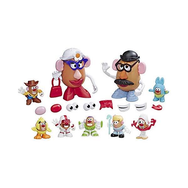 トイストーリー4 ミスター ポテトヘッド プレイセット 人形 フィギュア 変身 おもちゃ グッズ Mr Potato Head Disney/Pixar Toy Story 4 Andy's Playroom Potato Pack Toy for Kids Ages 2 & Up