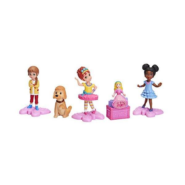 おしゃれに ナンシー・クランシー アクション フィギュア セット 人形 ドール おもちゃ グッズ Fancy Nancy Figurines Set