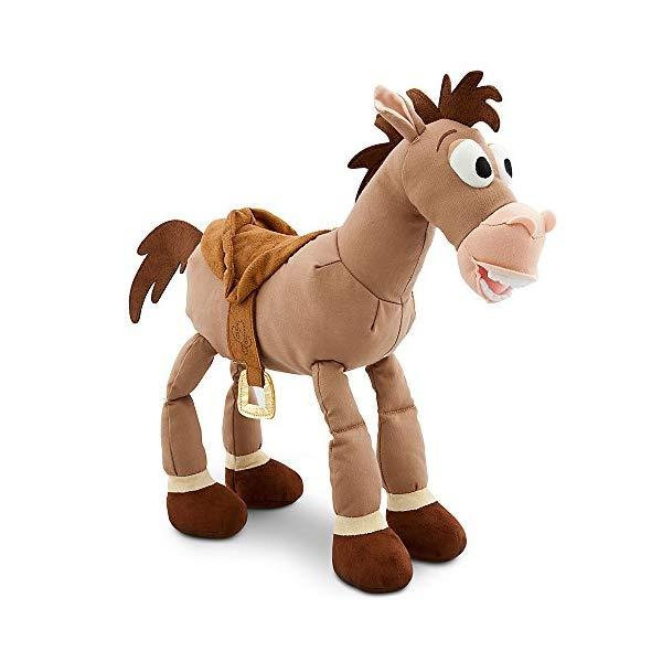 トイストーリー4 ブルズアイ ぬいぐるみ 人形 おもちゃ グッズ Disney Bullseye Plush - Toy Story - Medium - 17