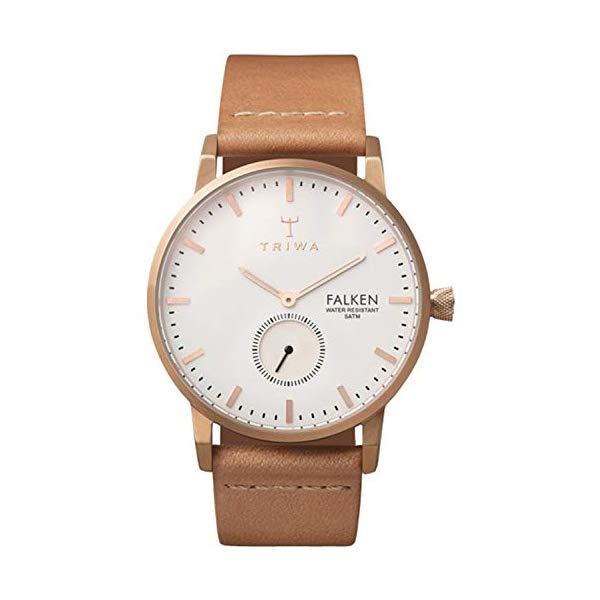 トリワ TRIWA 腕時計 ユニセックス 男女兼用 FAST101CL ウォッチ 北欧デザイン スウェーデン Triwa falken Unisex Analog Japanese Quartz Watch with Leather Bracelet FAST101CL
