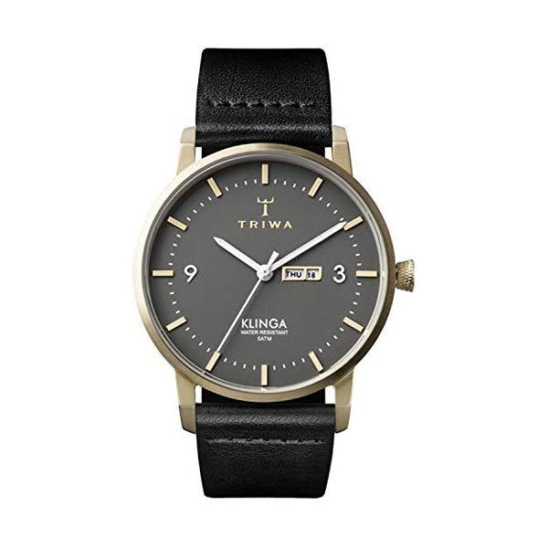 トリワ TRIWA 腕時計 ユニセックス 男女兼用 KLST107CL ウォッチ 北欧デザイン スウェーデン Triwa klinga Unisex Analog Japanese Quartz Watch with Leather Bracelet KLST107CL