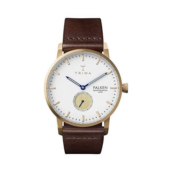 トリワ TRIWA 腕時計 FAST110-CL010413 ウォッチ 北欧デザイン スウェーデン Triwa Snow Falken Watch Dark Brown Classic
