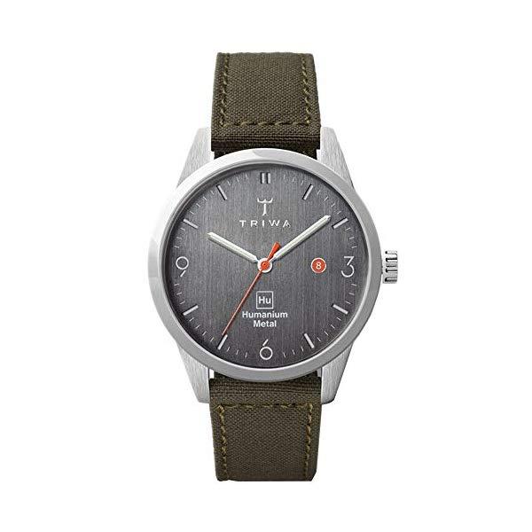 トリワ TRIWA 腕時計 メンズ 男性用 ウォッチ 北欧デザイン スウェーデン TRIWA HU39D Men's Minimalist Casual Watch Analog Wrist Watches for Men, 39mm