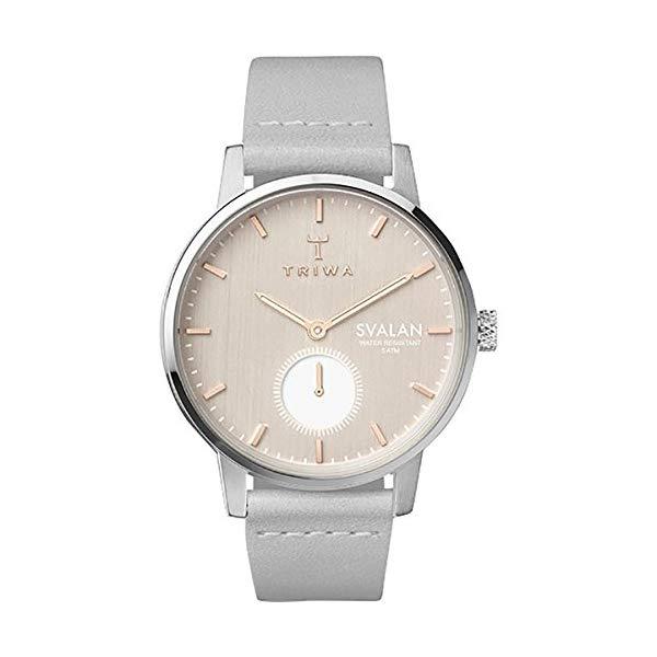 トリワ TRIWA 腕時計 レディース 女性用 ウォッチ 北欧デザイン スウェーデン Triwa Svalan Watch Women's Blush Svalan/Grey Classic Super Slim, One Size