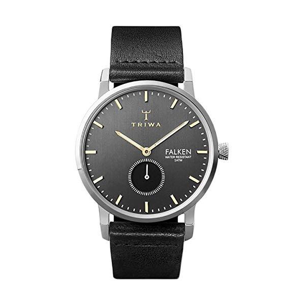 トリワ TRIWA 腕時計 FAST119-CL010112 ウォッチ 北欧デザイン スウェーデン Triwa Falken Watch Smoky Falken/Black Classic, One Size