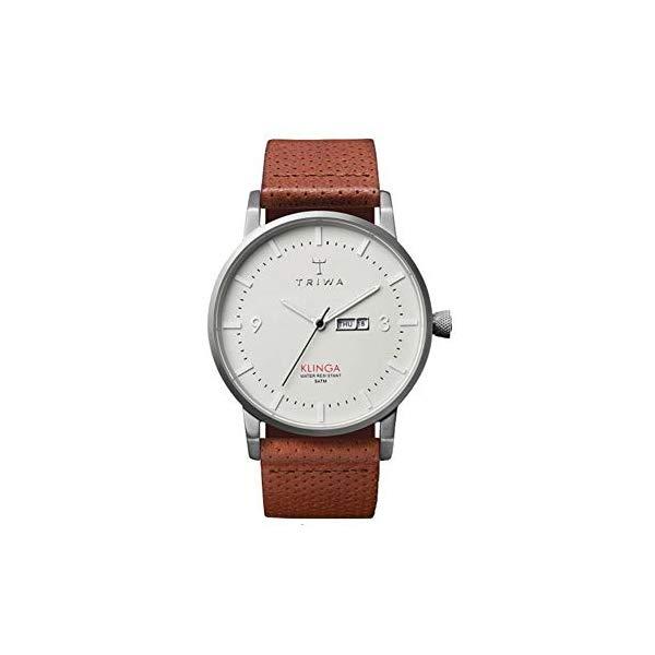 トリワ TRIWA 腕時計 KLST101 ウォッチ 北欧デザイン スウェーデン Triwa Dawn Klinga Classic Watch Brown Dotted Leather Strap KLST101-CD010212