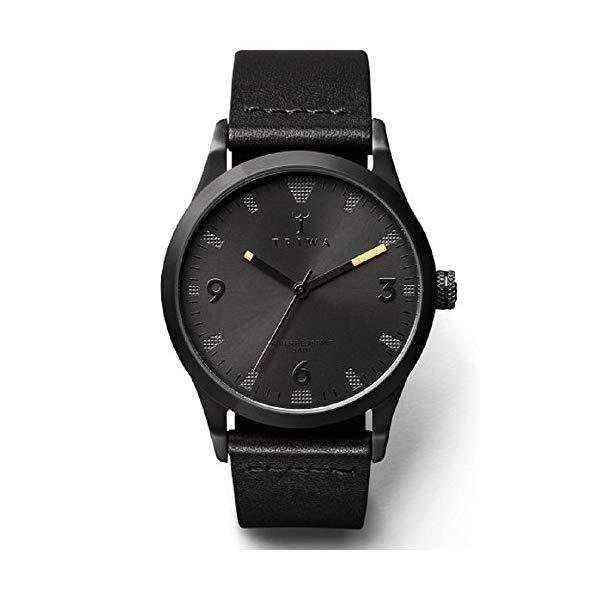 トリワ TRIWA 腕時計 ユニセックス 男女兼用 LAST110 CL010113 ウォッチ 北欧デザイン スウェーデン Triwa Sort of Black Men's Unisex Analog Leather Strap Watch LAST110 CL010113