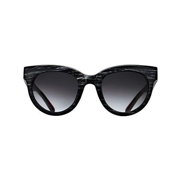 トリワ TRIWA 腕時計 レディース 女性用 ウォッチ 北欧デザイン スウェーデン Triwa Women's Olivia Wayfarer Sunglasses, Black